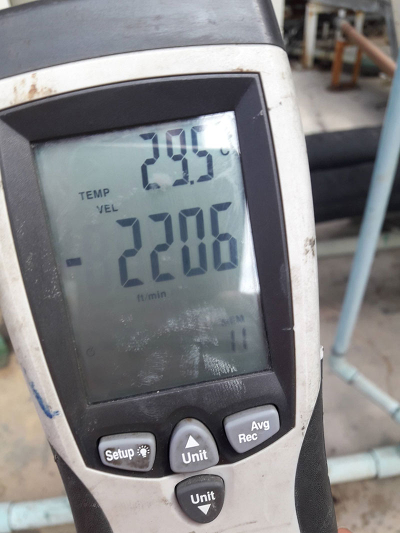 ให้บริการตรวจวัดปริมาณลม-(-Air-Flow-Test-)