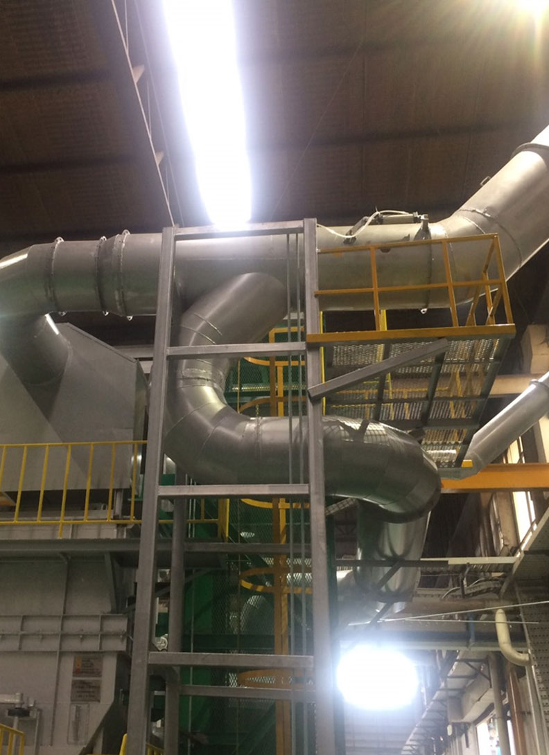 ให้บริการติดตั้งท่อลม-Ducting-ชนิด-Steel